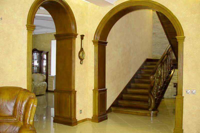 фото готовых арок в помещении