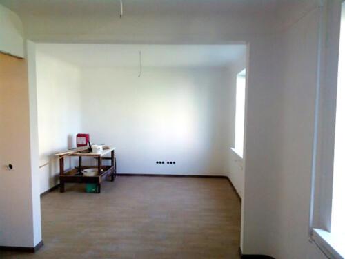 Фото. Вид после расширения проема стены. Валко